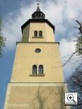 Foto: Kirchturm Holzhausen in Sachsen