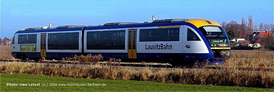 Foto: Connex Bahn Leipzig-Holzhausen-Bad Lausik / Link Connex  Fahrplan