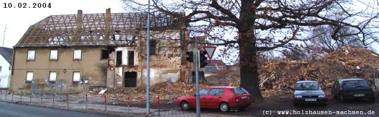 Foto: ruine saechsisches haus holzhausen